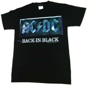 2001 AC/DC Back In Black Merch Tent Concert T Shirt SMALL  sc 1 st  Tee Shirt Madness & 2001 AC/DC Back In Black Merch Tent Concert T Shirt SMALL | Tee ...