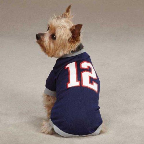 0d519ae36 Small  12 Tom Brady Dog Jersey New England Patriots NFL Pet Puppy Mesh T  Shirt Clothes Apparel